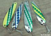 Fishing Lures - Northport Nailers, Flutterchuck Spoons